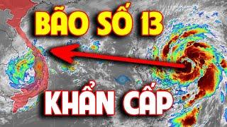 Tin bão số 13 | Dự báo thời tiết hôm nay ngày 11/11/2020 |Bão số 13 Vamco rất mạnh khi vào Biển Đông