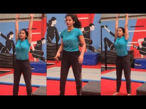 Vishnupriya performs cartwheels in gym, video goes viral