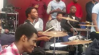 A Holy Ghost Possess Drummer