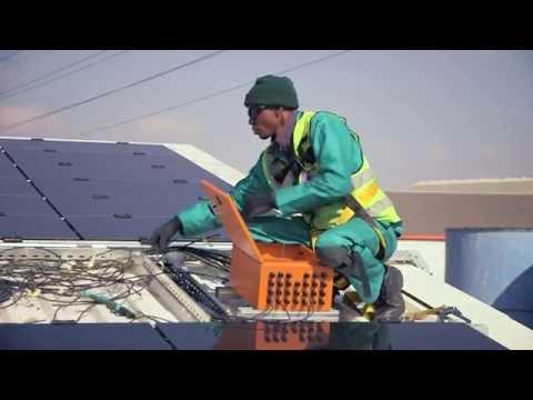 BARLOWORLD Solar panels