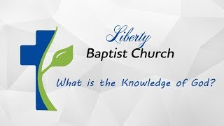 What is the Knowledge of God?