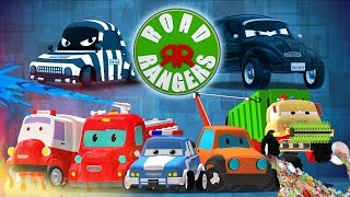 Road rangers | who're you going to call? | super hero songs for children | Ep #16