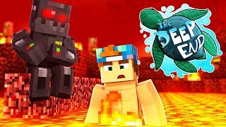 I FELL IN!!!! | Minecraft The Deep End SMP #11
