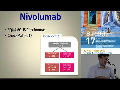Le Cancer du poumon, non à petites cellules en 2017 Dr V Gazaille St Denis, Réunion