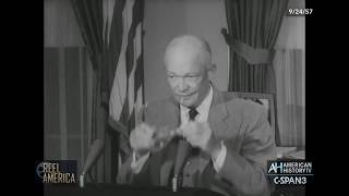 60 Years Ago: Pres. Eisenhower on Little Rock School Integration 9-24-1957