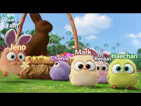 NCT DREAM - The Hatchling (Angry Birds) Easter - MARK RENJUN JENO HAECHAN CHENLE