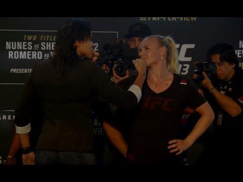 Medialne twarzą w twarz przed UFC 213