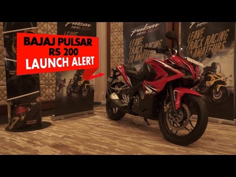 Launch Alert: Bajaj Pulsar RS200 : PowerDrift