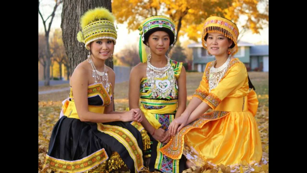Hmong girls movie video above understanding!