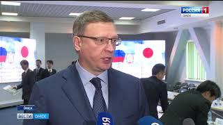 Александр Бурков намерен расширять сотрудничество с Японией