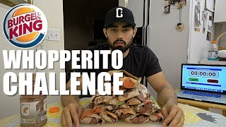 BURGER KING WHOPPERITO CHALLENGE | 7,650 CALORIES