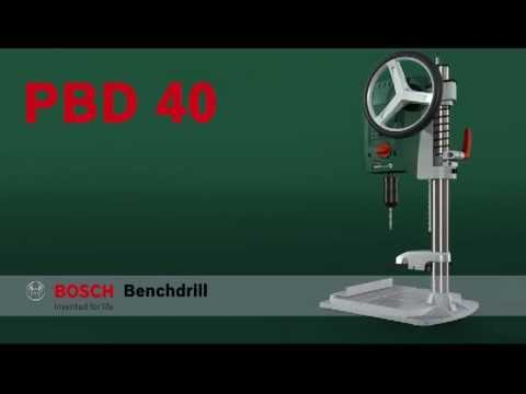 benefits of the bosch pbd 40 bench drill youtube. Black Bedroom Furniture Sets. Home Design Ideas