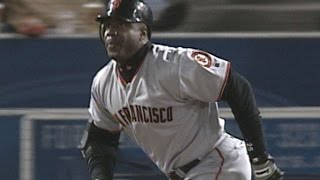 SF@LAD: Bonds hits his third and fourth homers of '02