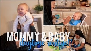 Day In the Life of Mommy & Baby | Daytime Routine!!