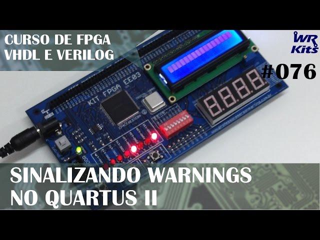 SINALIZANDO WARNINGS COM ASSERT | Curso de FPGA #076