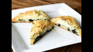 How to Make Blueberry Scones!