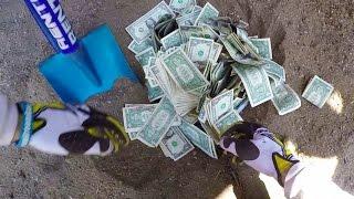WE FOUND BURIED MONEY!