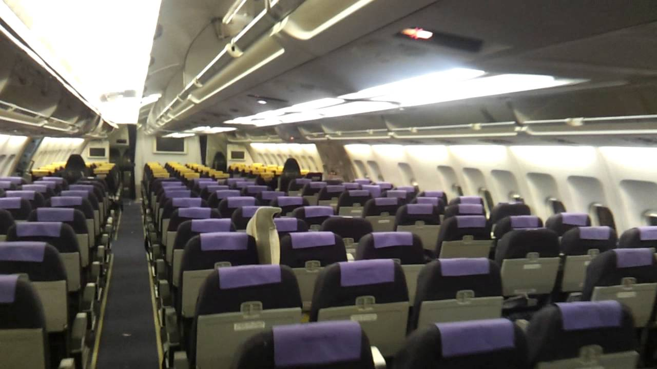 Airbus A300 600 Inside Cabin Youtube