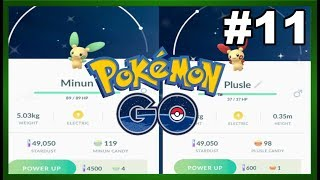 Pokemon GO! Episode 11: Shiny Plusle & Minun Hunt at Sapsucker Woods!
