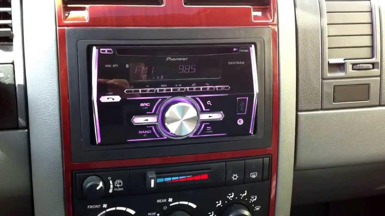 Double Din 05 Durango From Customradio Com Youtube