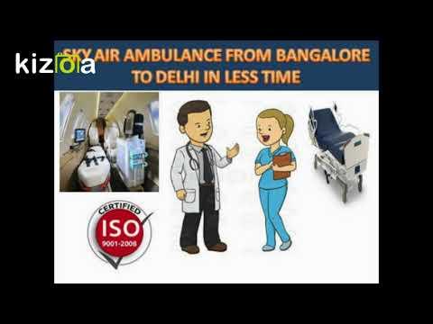 Sky Air Ambulance services from Ranchi to Delhi at minimal cost