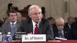 Sen. Cruz's Remarks at Sen. Sessions Nomination Hearing