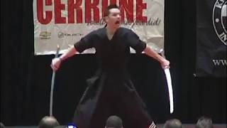 Kalman Csoka Double Sword Form 2011 Ocean State Grand Nationals Karate Tournament