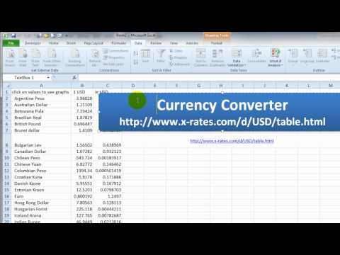 Historical forex rates excel