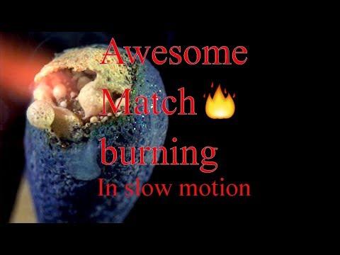 Accensione di un fiammifero a 4000 fotogrammi per secondo