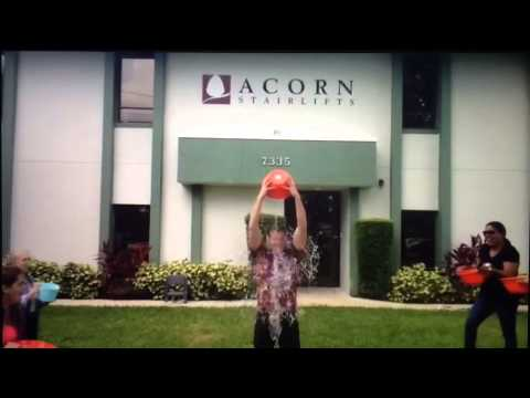 Acorn Stairlifts Gives a Lift to the ALS Ice Bucket Challenge