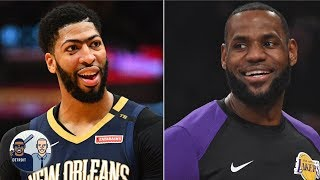 How the Lakers can land Anthony Davis before the trade deadline | Jalen & Jacoby