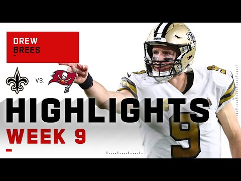Drew Brees Silenced Brady w/ 4 TDs | NFL 2020 Highlights