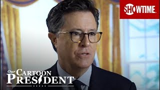 The Making Of Our Cartoon President w/ Stephen Colbert | SHOWTIME