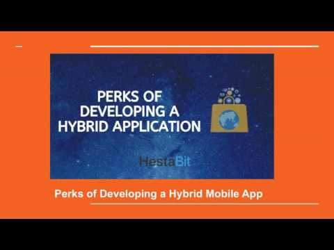 Perks of Developing a Hybrid Mobile App