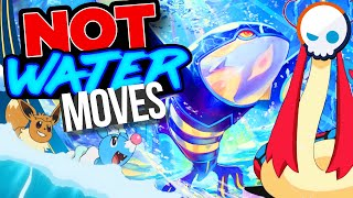 EVERY Water Type Move in Pokemon EXPLAINED! | Gnoggin