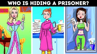 Help The Detective To Catch The Escaped Prisoners! 😲 Hard Riddles And Mind Puzzles