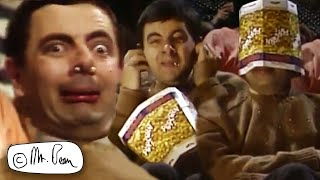 POPCORN DAY Bean! | Mr Bean Funny Clips | Mr Bean Official