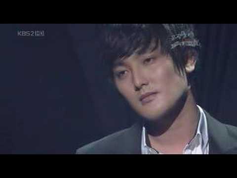 KangTa - Music Bank 080314 Eternity ( 어느날 가슴이 말했다 )