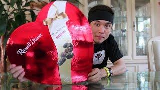 MASSIVE Box of Chocolates CHALLENGE (for valentines day)