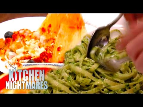 Gordon Ramsay Can't Handle Being Served Disgusting Food   Kitchen Nightmares