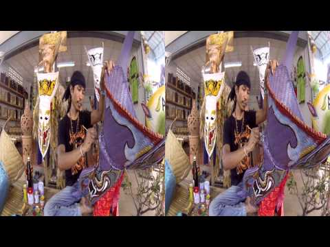 Faces of the Ghost 3D - The Phi Ta Khon Festival Captured using the SuperHero 3D Rig for GoPro