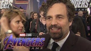 Avengers: Endgame World Premiere - Mark Ruffalo Interview