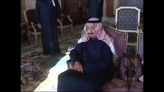 خادم الحرمين الشريفين يستقبل سمو ولي العهد والأمراء ودولة رئيس الوزراء الاسبق سعد الحريري