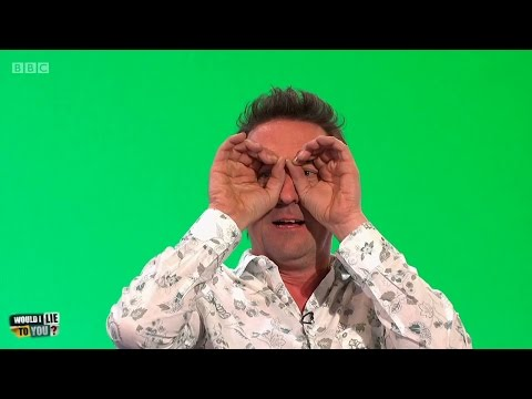 Did Lee Mack once read an entire book through a set of binoculars? - Would I Lie to You? [HD][CC]