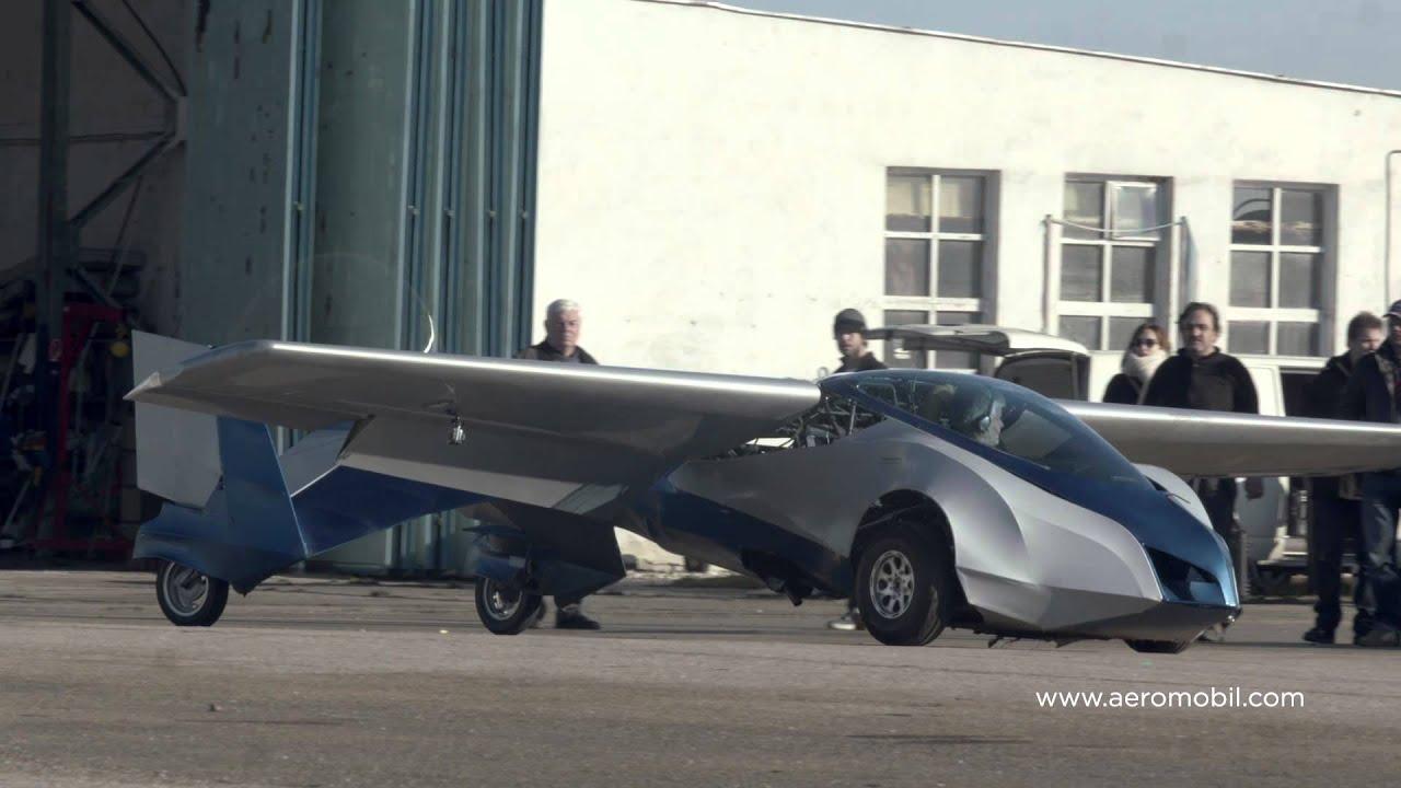 Летяща кола AeroMobil Трейлър