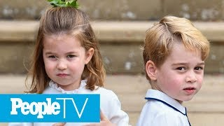Inside The Lives Of Royal Siblings Prince George And Princess Charlotte | PeopleTV