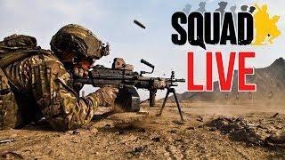 Machine Gun Madness   LIVE: Squad Game Play (LIVE GAMING)