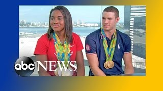 Simone Manuel and Ryan Murphy Talk Olympic Gold