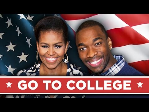 First Lady Michelle Obama Makes A Rap Video About Going To College