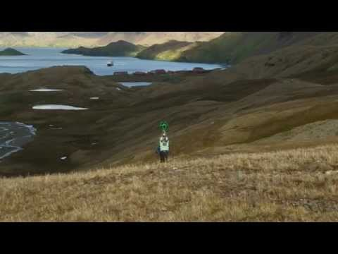Making-of: Google Street View in South Georgia & the Falkland Islands by Lindblad Expeditions-National Geographic as part of the Google Trekker Loan Program.